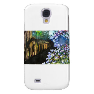 Old House and New Flowers Galaxy S4 Covers