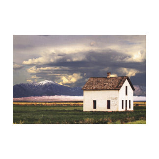 Old House at the Great Sand Dunes in Colorado Canvas Print
