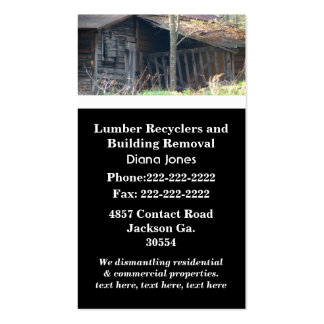 Old House Business Card
