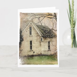 Old House card