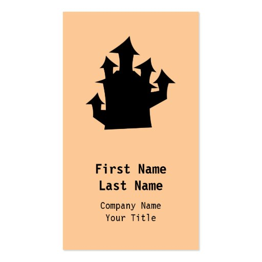 Old House, Five Towers. Double-Sided Standard Business Cards (Pack Of 100)