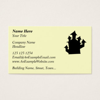 Old House, Five Towers. Business Card