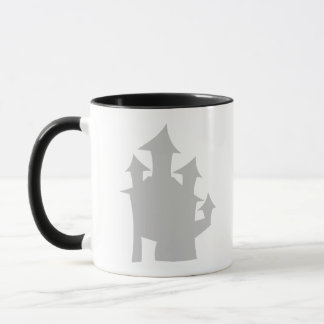Old House. Gray. Mug