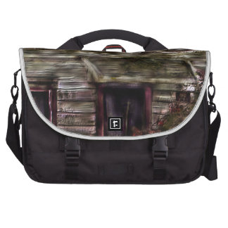 Old House Hidden In The Past Laptop Bags