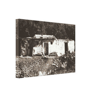Old House in Andalusia Canvas Print