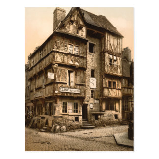 Old House in Rue St Martin, Bayeux, France Postcard
