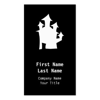 Old House, in White. Double-Sided Standard Business Cards (Pack Of 100)