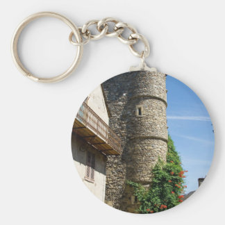 Old House Keychain