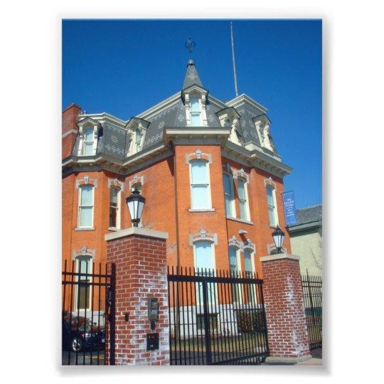 Old House on Main Street in Buffalo NY Photo Print