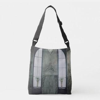 Old House Window Crossbody Bag