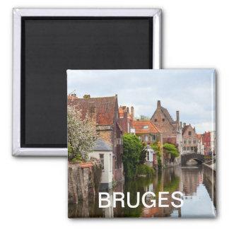 Old houses in Bruges, Belgium Magnet