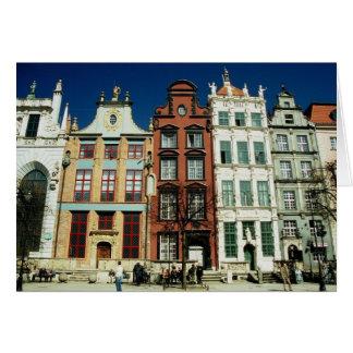 Old Houses in Gdansk Card
