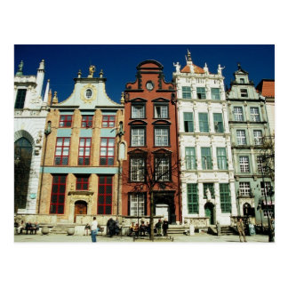Old Houses in Gdansk Post Cards