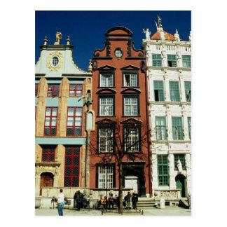 Old Houses in Gdansk Postcard