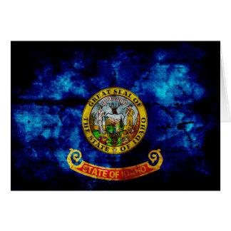 Old Idaho Flag; Card