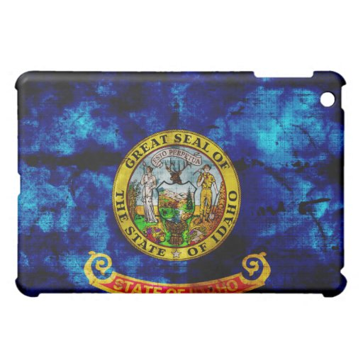 Old Idaho Flag; iPad Mini Cases