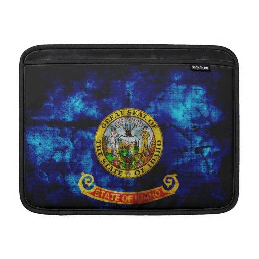 Old Idaho Flag; MacBook Sleeves