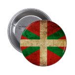 Old Ikurriña 2 Inch Round Button