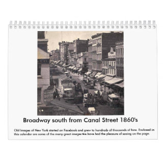 Old Images of New York Calender Calendar