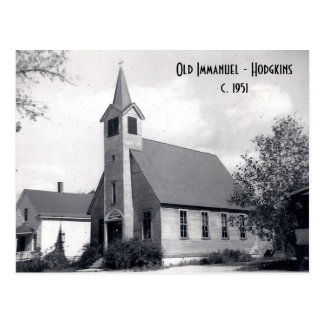 Old Immanuel - Hodgkins Postcard