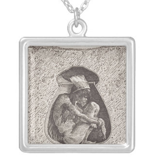 Old Indian cemetery Personalized Necklace