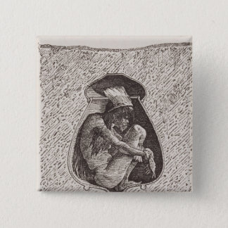Old Indian cemetery Pinback Button