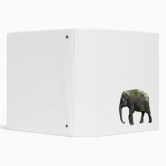 Old Indian Elephant Animals Wildlife Photography Binder