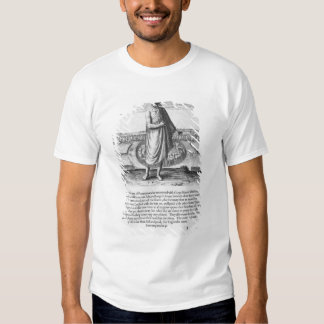 Old Indian Man in his Winter Garment T-Shirt