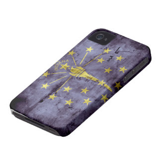 Old Indiana flag iPhone 4 Case-Mate Cases