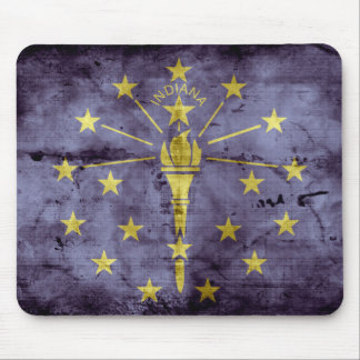 Old Indiana flag Mouse Pad