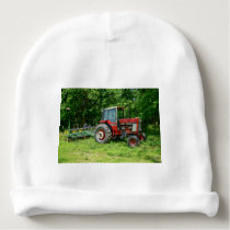 Old International Tractor Baby Beanie