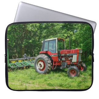 Old International Tractor Computer Sleeve