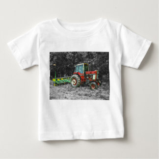 Old International Tractor Painterly Baby T-Shirt