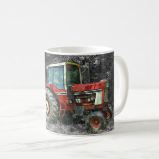 Old International Tractor Painterly Coffee Mug