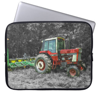 Old International Tractor Painterly Laptop Sleeve