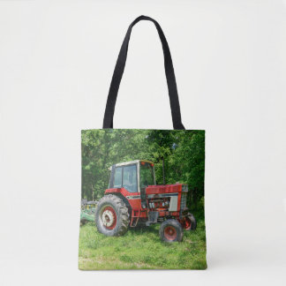 Old International Tractor Tote Bag