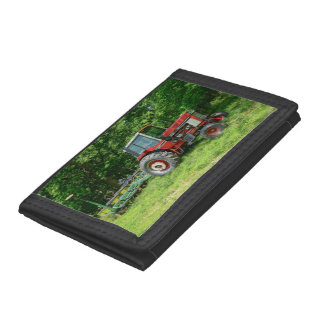 Old International Tractor Tri-fold Wallet