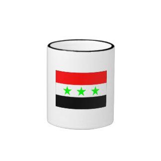 Old Iraq Flag Coffee Mugs