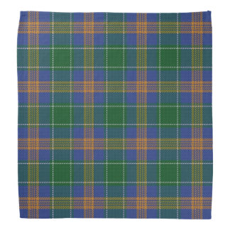 Old Ireland Clan MacAuliffe McAuliffe Tartan Plaid Bandana