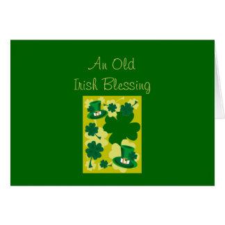 Old Irish Blessing Card