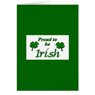 Old Irish Blessing Card-3 Greeting Card