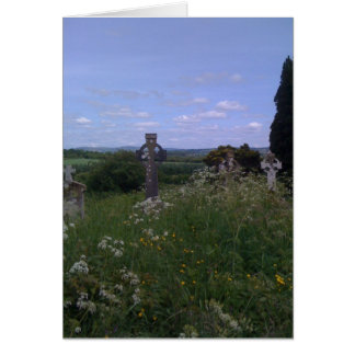 Old Irish Crosses Stationery Note Card