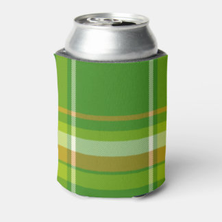 Old Irish Plaid Can Cooler
