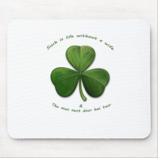 Old Irish Sayings Mouse Pad