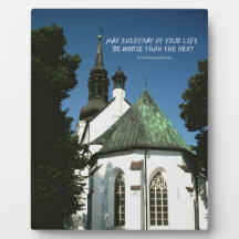 Church Wedding Photo Plaques Zazzle