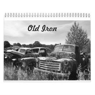 Old Iron Classic Cars Calendar