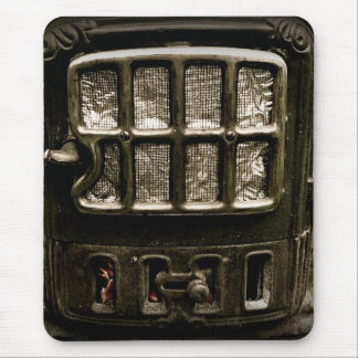 Old Iron Parlour Stove Front Mouse Pad