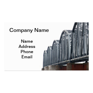 Old Iron Railway Bridge Double-Sided Standard Business Cards (Pack Of 100)