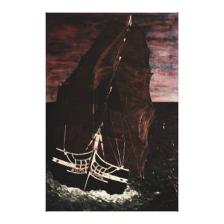 Old Ironside USS constitution Canvas Print