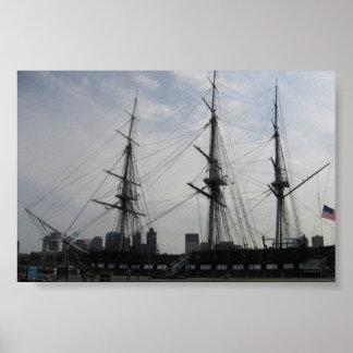 Old Ironsides; Boston, MA Poster